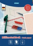Hartie milimetrica A4 Toppoint