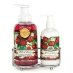 Set sapun lichid si crema de maini Black Cherry